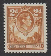 N. Rhodesia. SG31. 2d yellow-brown. Very fine lightly mtd mint.