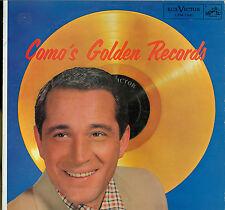 Perry Como - 'Como's Golden Records' - LP:  Grade = VG+:  (BX2)