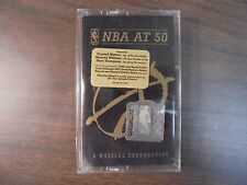 "NEW SEALED ""NBA At 50 Music Celebration   Cassette Tape (G)"