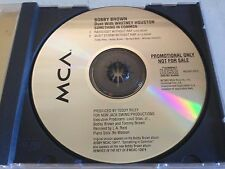 BOBBY BROWN WHITNEY HOUSTON SOMETHING IN COMMON 2 MIX OOP PROMO CD FREE SHIP