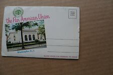 Vintage Souvenir Folder of the Pan American Union postcard picture book