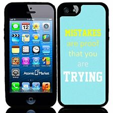 Mistakes Are Proof You Are Trying For Iphone 6 Case Cover