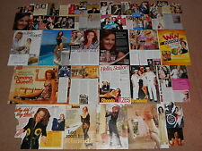 45+ RHONDA BURCHMORE Magazine Clippings