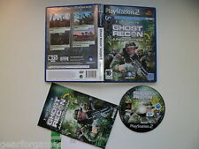 Playstation 2 Ps2 Pal Juego Ghost Recon Jungle Storm limpiado y jugado