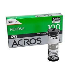 5x Fuji Acros Neopan 120 Rollfilm Schwarz / Weißfilm Analogfilm