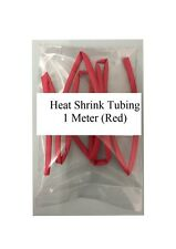 Good Quality RED Heat Shrink Tubing 1 Meter 2:1 Ratio 6.4mm/3.2mm HST6.4/3.2R