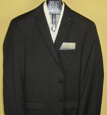 Jos A Bank classic collection solid Dark Grey jacket 50 Regular Portly Fit
