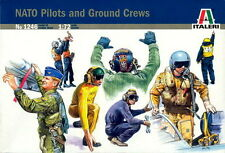 Italeri 1/72 1246 Modern NATO Pilots and Ground Crews (48 Figures, 20 Poses)