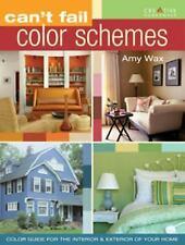 Can't Fail Color Schemes, Amy Wax, 1580113664, Book, Good