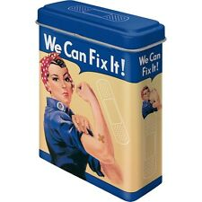 WE CAN FIX IT! Bandages / PFLASTER in Vintage Blechdose Rockabilly