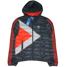 Mega RARE! Adidas Originals Men's Bobsled Down Jacket Padded Warm Winter Small