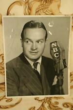 Bob Hope Autograph Actor Comedian 14 Academy Awards Road to Bali USO Silver Bell