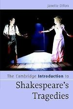 The Cambridge Introduction to Shakespeare's Tragedies (Cambridge Intro-ExLibrary