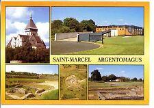 CP 36 INDRE - Saint-Marcel - Argentomagus - Multivues couleurs