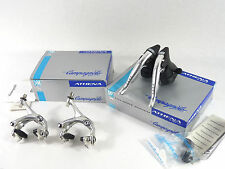 Campagnolo Ergo Lever 9 Speed Athena Alloy & Brake Caliper Set 1998 NOS