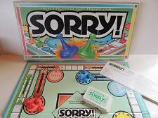 Sorry Game Vtg 1995 Family Original Complete Parker Brothers English Spanish