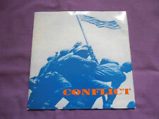 "Conflict - These Colours Don't Run 7"" 1993 Mortarhate anarcho punk"