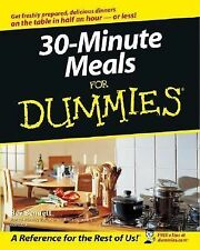 30-Minute Meals for Dummies® by Bev Bennett COOK EAT DINNER FOOD FAST NEW BOOK