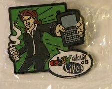 Lot 2 2008 E-bay Live Chicago Pins USPS Sell It Ship It New In Bag