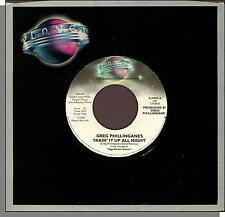 "Greg Phillinganes - Takin' It Up All Night - 1981 Promo 7"" 45 RPM Single!"