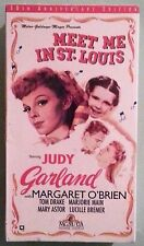 judy garland MEET ME IN ST LOUIS    VHS VIDEOTAPE NEW factory sealed/stamped