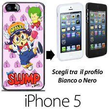 Dr Slump e Arale Gacchan Gatchan COVER RIGIDA CUSTODIA IPHONE 5