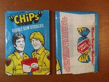 (1)-Vintage 1979 Donruss Chips Unopened Wax Pack from Full Box