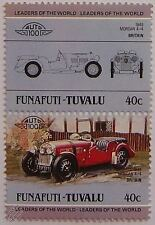1948 MORGAN  4/4 Car Stamps (Leaders of the World / Auto 100)