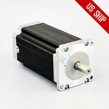 US Ship Nema 23 Stepper Motor High Torque 3Nm(425oz.in) Single Shaft CNC Router