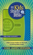 KJV Kids Study Bible, imitation leather green/blue