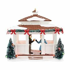 Department 56 Snow Village 2016 40TH ANNIVERSARY GAZEBO 4050978 Dept 56