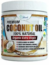 Islands Miracle Best Coconut Oil 29oz Hair Growth Skin & Face Pulling Cooking