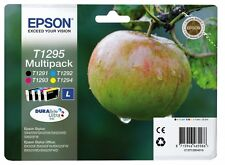 Epson T1295 - T1291 T1292 T1293 T1294 Genuine Original Combo Pack Ink Set of 4