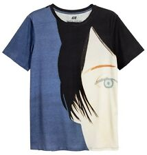 ALEX KATZ x H&M 'Kym' 2011/2016 Men's Art T-Shirt w/ Printed Design MEDIUM *NWT*