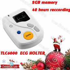 Dynamic 12 Lead ECG Holter Systems,48 Hours Recorder, Recorder&Analysis Software