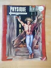 Acme PHYSIQUE ILLUSTRATED bodybuilding muscle gay interest magazine WINTER 1967