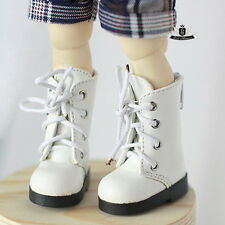 1/6 BJD Shoes Yosd White Boots Dollfie DREAM DOD SOOM MID Luts Dollmore DZ Shoes