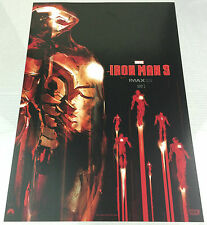 "Iron Man 3 * Large IMAX Promo Poster 13.5"" x 19.5"" * 2 For 1 Avengers Hulk Thor"