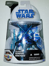 SIGNED! STAR WARS GENERAL GRIEVOUS MATTHEW WOOD HOLOGRAPHIC TOYS R US HASBRO COA