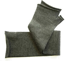 Cashmere Blend fashion gloves knit wrist warmer Charcoal gray grey