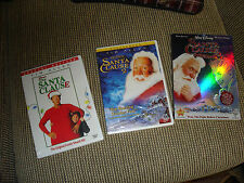 The Santa Clause Trilogy 1/2/3 DVD LOT OF 3  TIM ALLEN