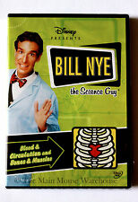 Bill Nye The Science Guy Blood Circulation and Bones & Muscles Educational DVD