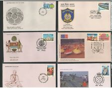 FDCYP - 021. INDIA 1986. Complete Year Pack with 23 First Day Covers.