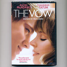 The Vow 2012 PG-13 romantic drama movie, new DVD Rachel McAdams, Channing Tatum