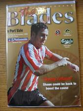23/11/1999 Sheffield United V PORT VALE (senza apparente guasti)