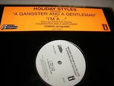 "Holiday Styles A Gangster & A Gentleman / I'm A ... 12"" Single NM 2002"