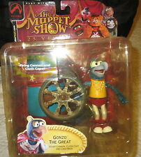 Muppets Crash Helmet Gonzo Action Figure Playset Palisades Series 2 New