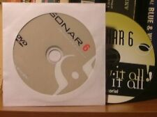 Sonar 6 Producer Edition dvd & Tutorial