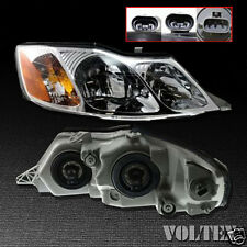 2000-2004 Toyota Avalon Headlight Lamp Clear lens Halogen Passenger Right Side