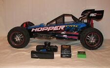 New Bright 1:5 Scale Hopper Pro Remote Control Car BLUE Battery Charger Remote